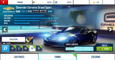 A8A Chevrolet Corvette Grand Sport MAXPRO 0808