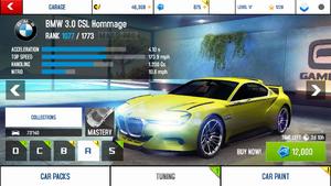 BMW 3.0 CSL Hommage price