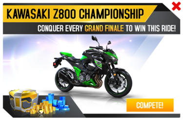 Kawasaki Z800 Championship Promo