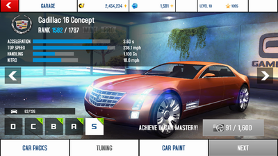 Cadillac 16 Concept stock + price