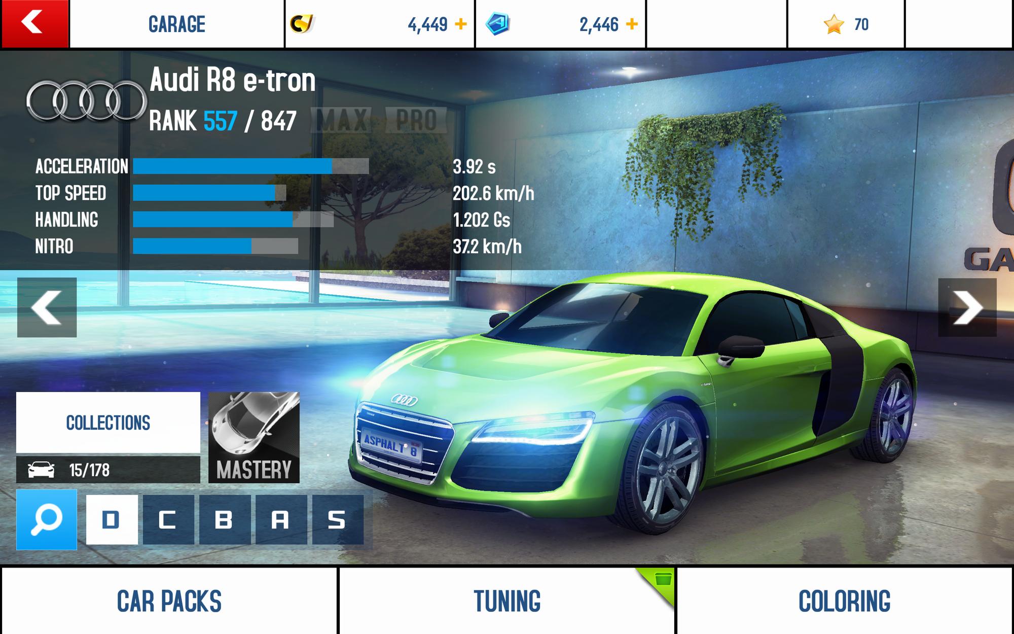 Audi R8 E Tron Asphalt Wiki Fandom Powered By Wikia