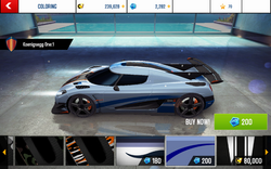 Koenigsegg One-1 Decal 5