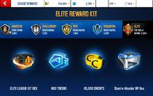 Alcador Elite League Rewards