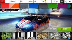 SSC Ultimate Aero XT Decal 3