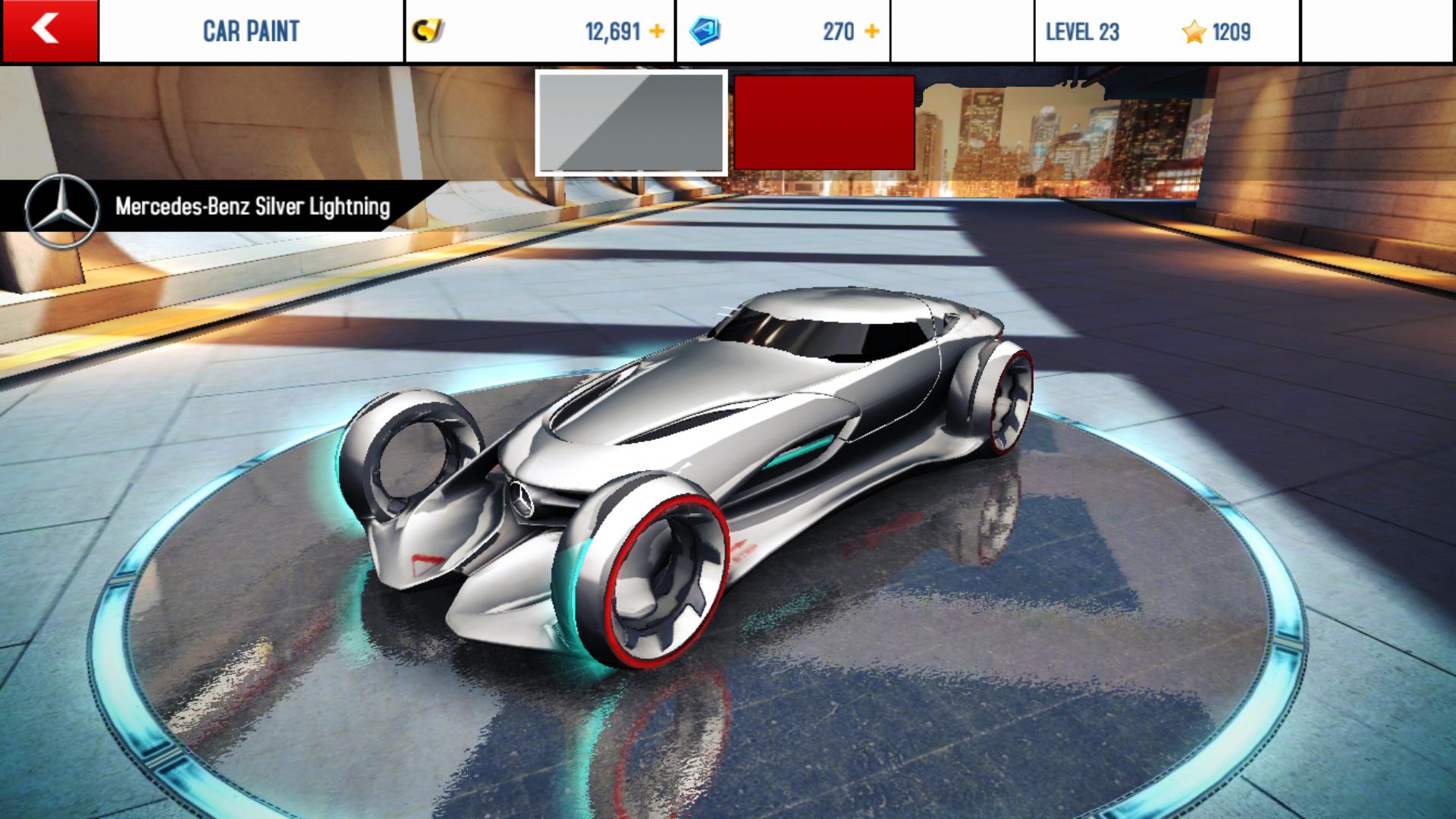 Image mercedes benz silver lightning for Mercedes benz biome wiki