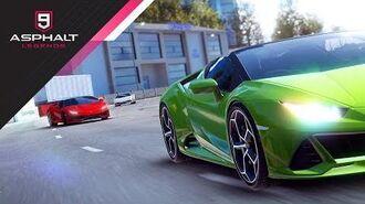 Asphalt 9 Legends - Lamborghini Huracán EVO Spyder Update