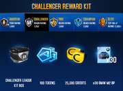 BMW M2 Challenger League Rewards