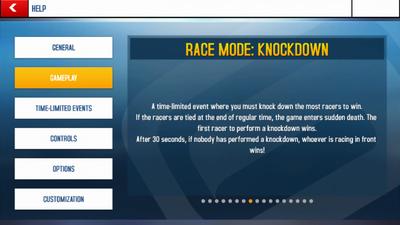 Knockdown Mode Info