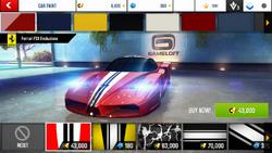 Ferrari FXX Evoluzione Decal 1