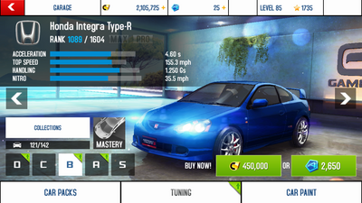 Integra prices