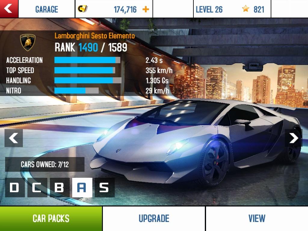 Lamborghini sesto elemento top speed mph