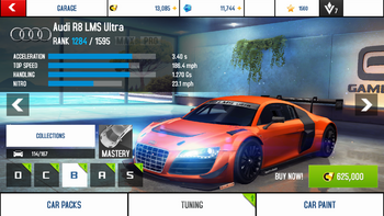 A8A Audi R8 LMS Ultra stock + price