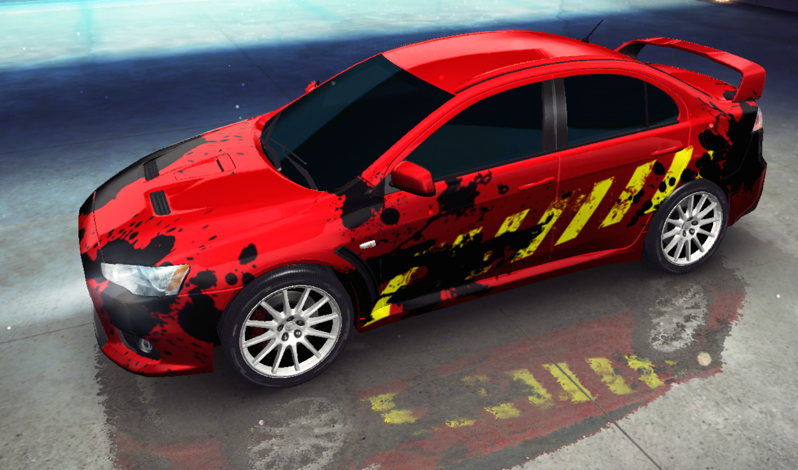 Mitsubishi lancer evolution x decal png