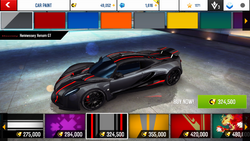 Hennessey Venom GT Decal 14