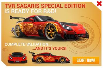 TVR Sagaris SE R&D Promo