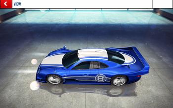 20151028 Mercedes-Benz CLK GTR AMG decal