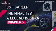 Career the final test a legend is born chapter 5-1