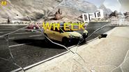 Renault CLIO R.S. 200 EDC Wreck