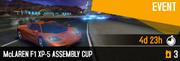 F1 XP5 BP Cup