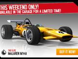 McLaren M14A (miscellaneous)