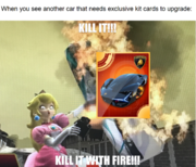 Remove car-specific kit cards