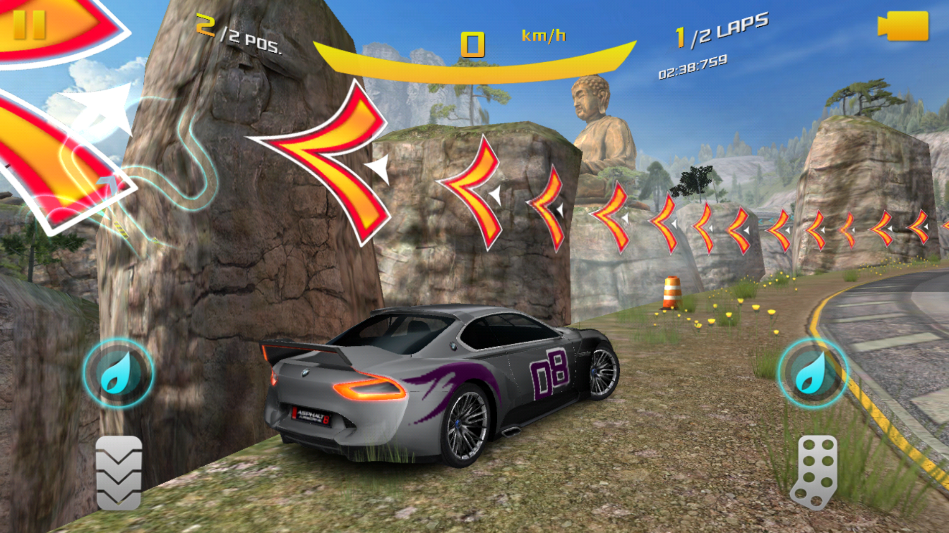 Porsche update asphalt wiki fandom powered by wikia two rock pillars are added to further block the shortcut exploit used in two of the great wall tracks great wall reverse and wall ascent fandeluxe Images