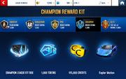 Kepler Motion Champion League Rewards