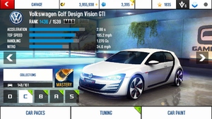 Golf stats (M)