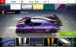 Koenigsegg One-1 Decal 6