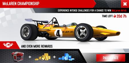 McLaren Championship ad