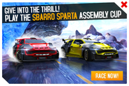 Sparta Assembly Cup Promo
