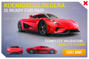 Koenigsegg Regera R&D Promo