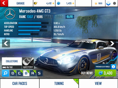 Mercedes-AMG GT3 stock + new prices