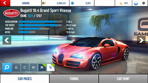 A8A Bugatti Veyron 16.4 Grand Sport Vitesse stock