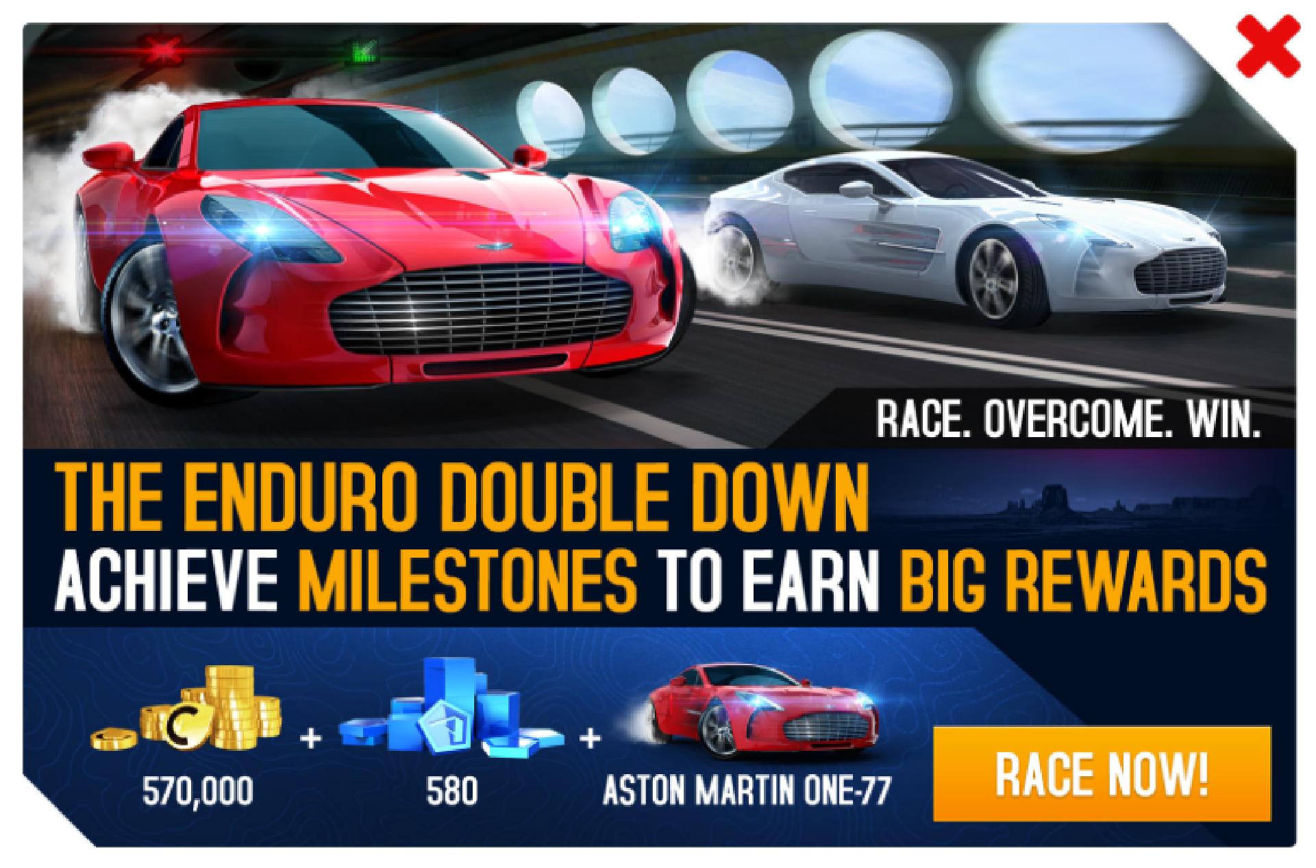 Enduro Double Down Aston Martin One 77 Asphalt Wiki