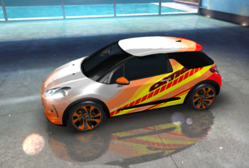 20160111 DS 3 Racing decal