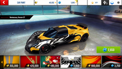 Hennessey Venom GT Decal 18