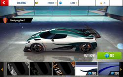 Koenigsegg One-1 Decal 4