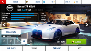 Nissan GT-R NISMO stock + price