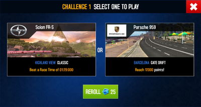 EDD Challenge Select