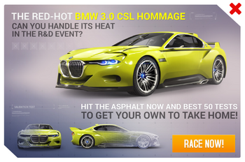3.0 CSL R&D Promo