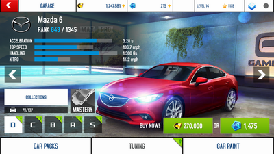Mazda 6 stock + price