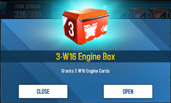 Box Engine W16