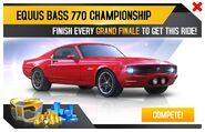 Equus Bass 770 Championship Promo