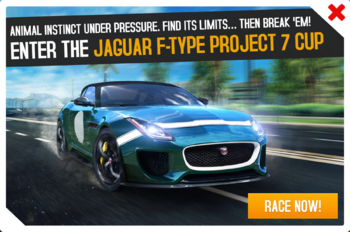 F-Type P7 Cup