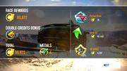 League race countback