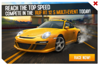 RUF RT 12 S Multi-Event Promo