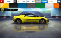 Evora 410 Yellow