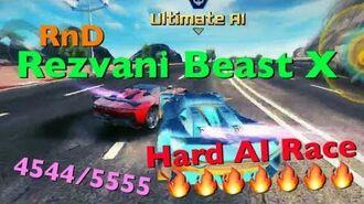 Rezvani Beast X (Final AI) 4544 5555【Asphalt8】