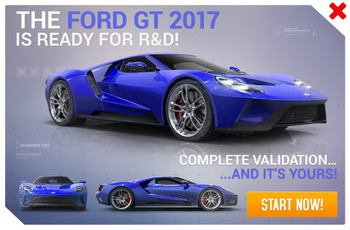 2017 Ford GT R&D Promo